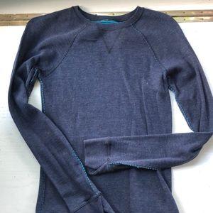 Lululemon reversible crew neck sweatshirt